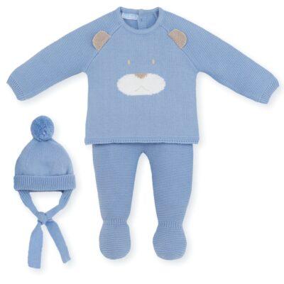 """Conjunto Bebé Azul """"Big Teddy"""""""