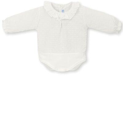 Camisa body Plumeti Crudo